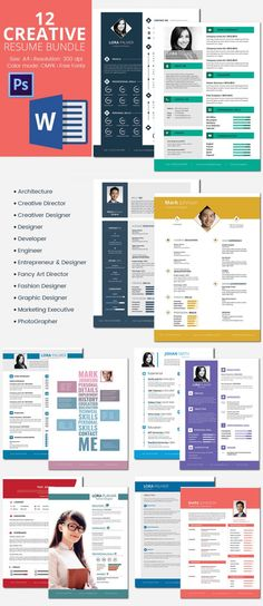 Free-Creative-Resume-Template-in-PSD-Format u2026 Pinteresu2026 - infographic resume builder