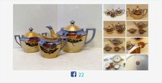 #Vintage #Lusterware #TeaSet Seiei & Co Japan #gotvintage #vintagetea #teapot #creamer