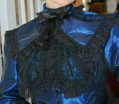 Lacy Taffeta Collar | Recollections