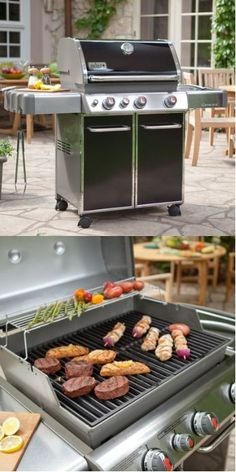 Weber Genesis Grill - perfect for cooking out to celebrate dad's day.