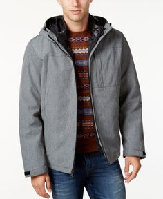 Tommy Hilfiger Big & Tall Men's 3-In-1 Jacket