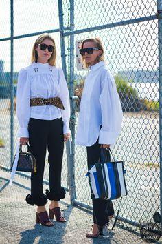 Annabel Rosendahl and Celine Aagaard by STYLEDUMONDE Street Style Fashion Photography