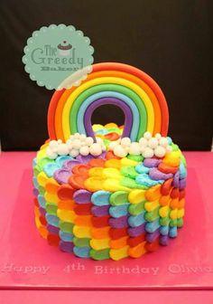 rainbow cake | Rainbow cake/cupkake/pops