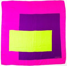 magenta + neon chartreuse yellow + purple color blocks #inspire ...More eye + soul-candy at http://wellbeingwholebeing.com  & http://nourishretreat.com
