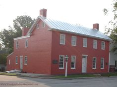 """Levi Coffin House, """"Grand Central Station of the Underground Railroad""""    www.YourLifeTodayMagazine.com"""