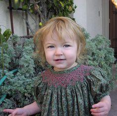 Green Smocked Dress | Flickr - Photo Sharing!