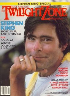 Twilight Zone Magazine -- Two things I love: the twilight zone and Stephen King!