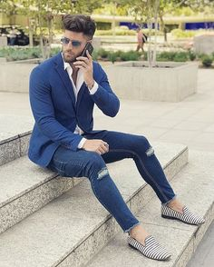 """7,389 Likes, 34 Comments - Best of Men Style (@bestofmenstyle) on Instagram: """"By @valentinbenet"""""""