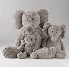 Cuddle Plush Elephant | Restoration Hardware Baby & Child