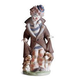 "Lladro Clown Figurine ""Surprise"""