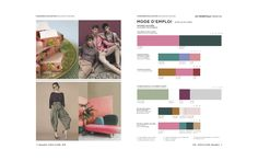 Peclers Paris: Cahier de tendance COLORS TREND BOOK SPRING SUMMER 2018