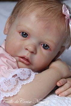 Kelly Ann - bébé reborn fille - 50 cm - 3 kg 400 kit Gracie d'Ann Timmerman - Feuille de Cerise Nursery