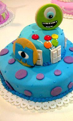 Torta Monsters Inc Y desde un universo paralelo: Monsters Inc