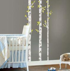 Birch Tree Wall Decal, Nursery Wall Decals, Wall Stickers For Bedroom, Birch  Tree Decal, Tree Wall Stickers, Wall Vinyl Decal DB334 | Birch, Wall Decals  And ...