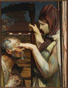 Jacek Malczewski - Śmierć (1902)