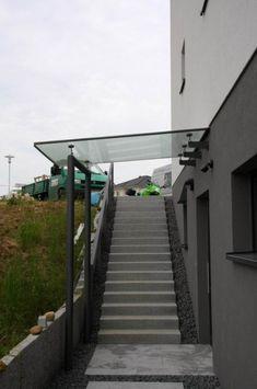 Pergola Attached To House Plans Basement Entrance, Entry Stairs, Basement Windows, Basement House, Basement Stairs, House Entrance, Carport Patio, Wood Pergola, Pergola Plans
