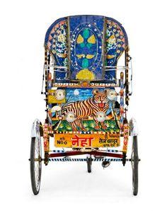 The Beautiful Rickshaws of India