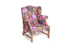 Source The Daisy Wingback, Floral Squash version by limón Camping Chairs, Bedroom Chair, Garden Chairs, Swivel Chair, Contemporary Interior, Rocking Chair, Squash, Daisy