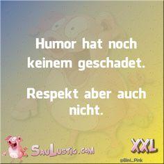 Humor hat noch niemandem geschadet...