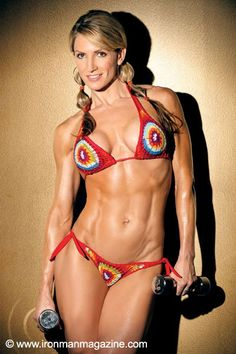 Gina Ostarly - 44 years old and a mother of 3. Remind me of your excuse again?