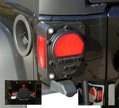 jk military taillights - Google Search  These are sick.  If we had gotten Commando Green instead of U.N. White these would have been a must have.