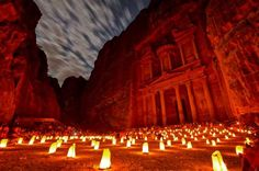 Petra, Jordan  -        This ancient city is famous for its buildings that are carved from stone.  -    © Olivia ZZ/Getty Images