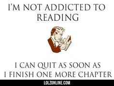 I'm Not Addicted To Reading#funny #lol #lolzonline