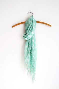 Mint scarf. yes