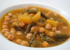 Asopaipas. Recetas de Cocina Casera                                                               .: Potaje de Calabaza