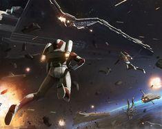 ArtStation - Star Wars: On the Front lines, Thomas Wievegg