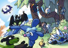 Resultado de imagem para pokemon de alola