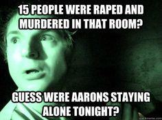 ghost adventures zak - poor Aaron :(