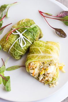 Cabbage rolls with quinoa – Best of recipes No Carb Recipes, Veg Recipes, Light Recipes, Vegetarian Recipes, Healthy Recipes, Cabbage Rolls, Easy Family Meals, Greens Recipe, Recipes For Beginners