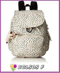 Kipling City Pack S Mochila Mujer: esta es una bolsa de bella y ligera resaltando un estampado, interesante y cómodo ideal para ti, está preciosa prenda para lucir en cualquier momento...