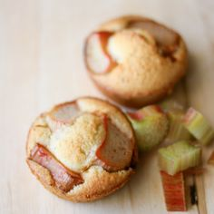 Rhubarb Financiers