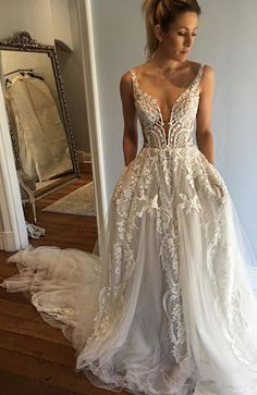 lace long wedding dresses, wedding dresses long, special wedding gowns, new arrival wedding dresses