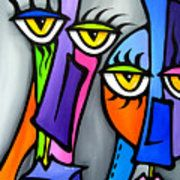 Pop Art Painting - Move On by Tom Fedro - Fidostudio Portraits Cubistes, Pop Art Collage, Cubist Art, Modern Art Movements, Abstract Face Art, Abstract Photos, Watercolor Artists, Grafik Design, African Art