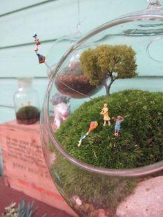 Bonsai Terrarium For Landscaping Miniature Inside The Jars 37