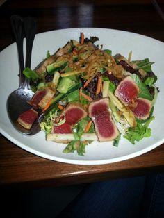 PF Changs ahi tuna salad.