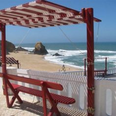 Praia de Santa Cruz, Torres Vedras,Portugal      Beach we love to visit in Portugal...air and water are much cooler than in So. Portugal, but it is just as beautiful in this region!