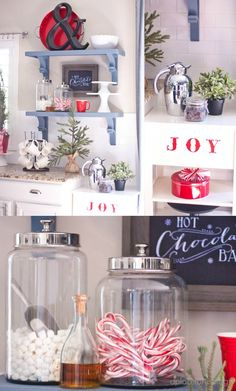 Christmas Home Tour 2013 A Place for Us Blog