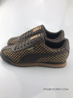 c3c696176118 2017 PUMA Roma Basic 359853 Woven Khaki Men Shoes