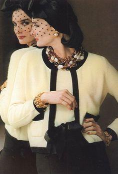 Best Fashion Look : Chanel Chanel Fashion, 80s Fashion, Fashion Week, Fashion History, Vintage Fashion, Fashion Looks, Womens Fashion, Chanel Couture, Estilo Coco Chanel