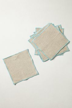 Neon Border Cocktail Napkins from Anthropologie - $28.00