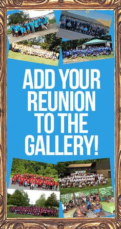 To add your reunion to our gallery, email a high-resolution photo to editor@reunionsmag.com.