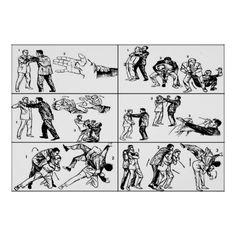 Self Defense Techniques Print