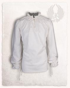 Swordman Shirt Top T-Shirt Jersey Jumper for Cavalier Pirate Laced Fancy Dress