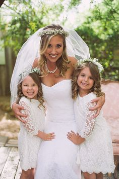 Photo from Melissa + Dan collection by LeahAndMark & Co. #LeahandMark.com #bride #flowergirls