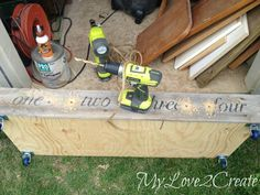 MyLove2Create, Under the Bed Storage, Repurposing Drawers Diy Hidden Storage Ideas, Old Fence Boards, Old Drawers, Old Chairs, Under Bed Storage, Paint Drying, Wood Glue, How To Do Nails, Diy Design