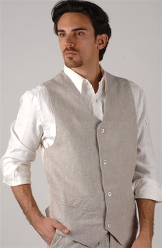 Update your wardrobe with a new collection of Mens linen shirts ...